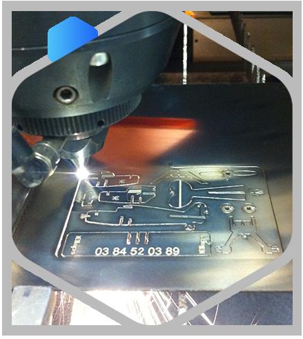 Découpe Laser - Fabricant Lunetterie Jura